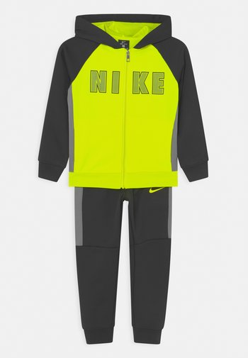 COLORBLOCKED THERMA SET UNISEX - Training jacket - black