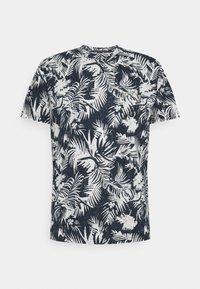 Jack & Jones - JORSUNNY  - Print T-shirt - navy blazer - 0
