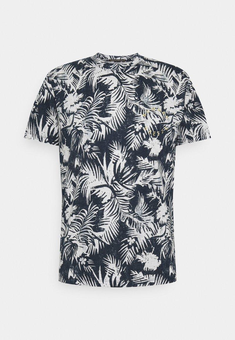 Jack & Jones - JORSUNNY  - Print T-shirt - navy blazer