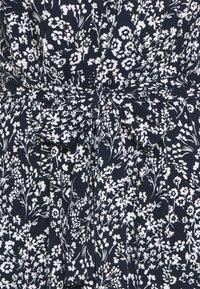 TOM TAILOR - Day dress - navy/off-white - 2