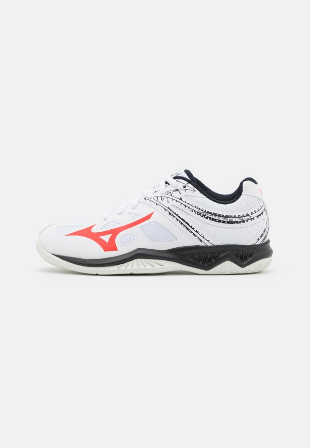 LIGHTNING STAR Z5 JUNIOR UNISEX - Volleyball shoes - white/ignition red/salute