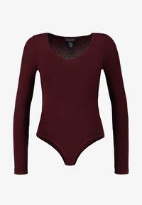 New Look - BODY - Long sleeved top - dark burgundy - 3