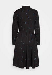 Danefæ København - RIBE DRESS - Skjortekjole - black/dark duck - 0