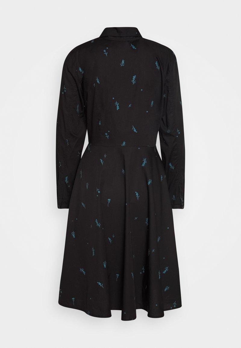 Danefæ København - RIBE DRESS - Skjortekjole - black/dark duck