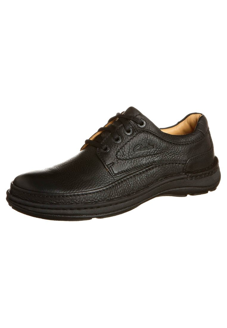 Clarks - NATURE THREE - Casual lace-ups - black