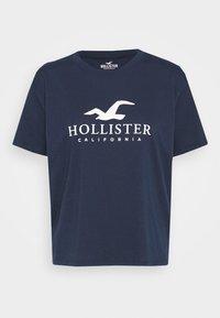 TIMELESS LOGO - Print T-shirt - navy