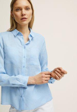 SELMA  - Button-down blouse - lt blue