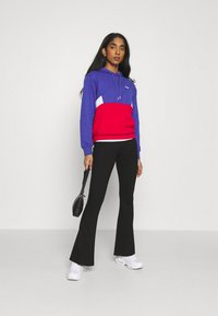 Fila - AMYA CROPPED HOODY - Sweatshirt - clematis blue/true red/bright white - 1
