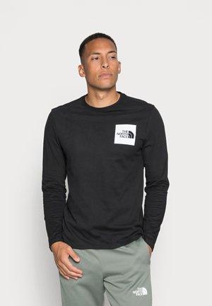 FINE TEE  - Långärmad tröja - black/white