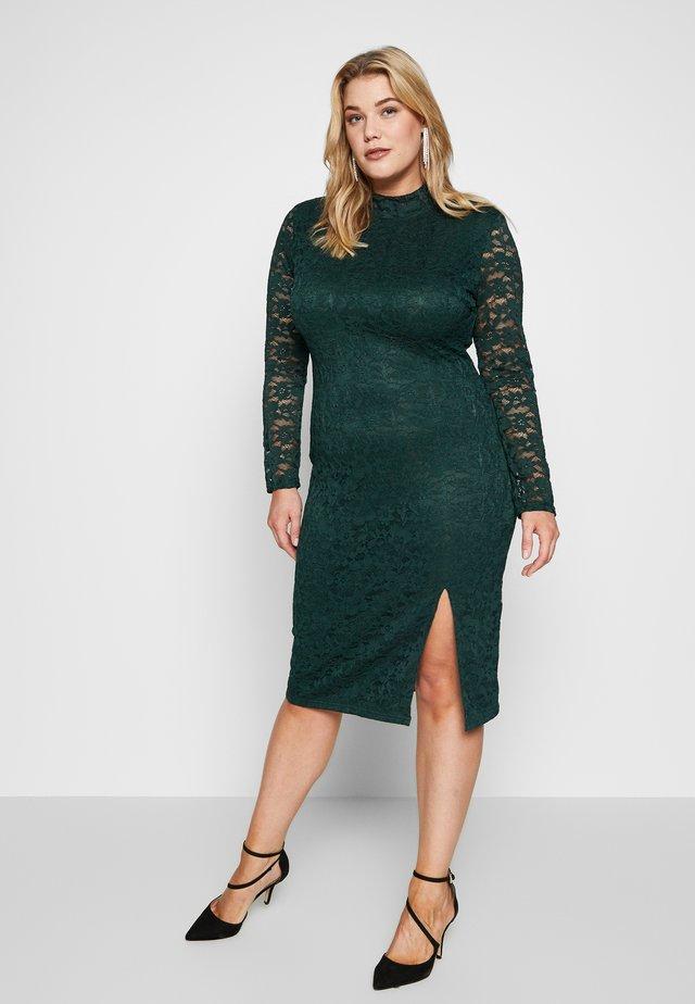 OPEN BACK DRESS - Cocktailjurk - green