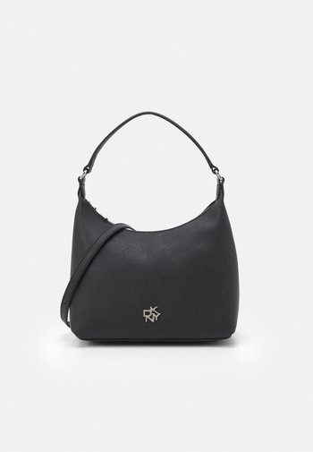 CAROL POUCHETTE - Handbag - black/silver-coloured
