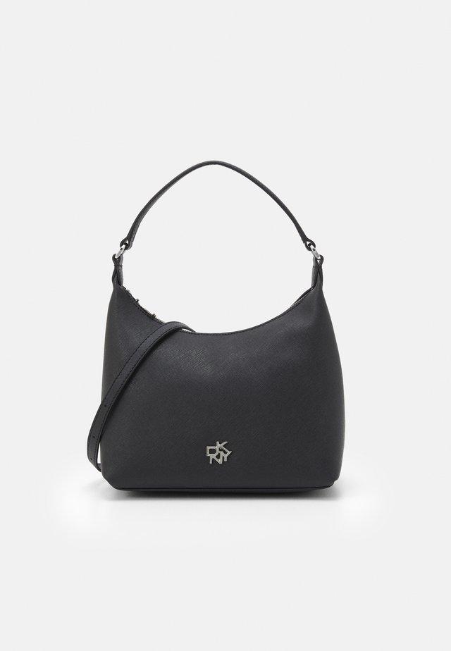 CAROL POUCHETTE - Sac à main - black/silver-coloured