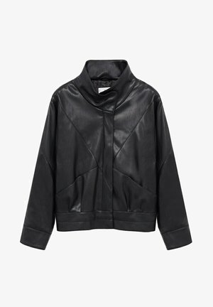 SOUL - Faux leather jacket - schwarz