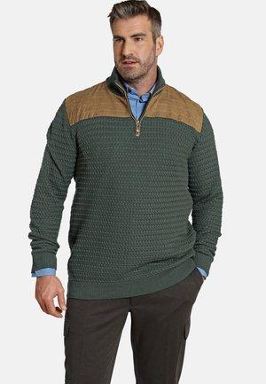 EARL FILIBERT - Fleece trui - dunkelgrün