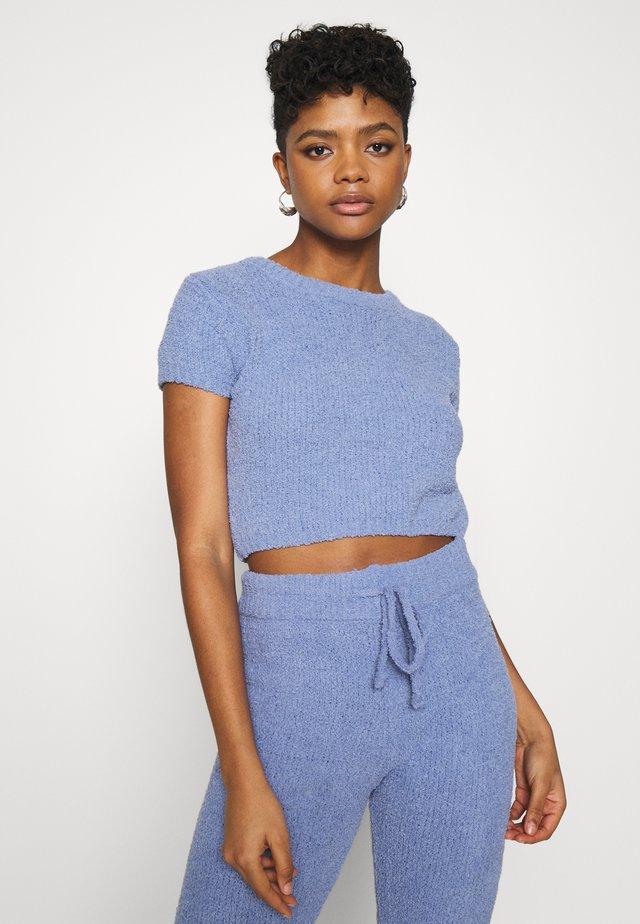 POPCORN - Print T-shirt - blue