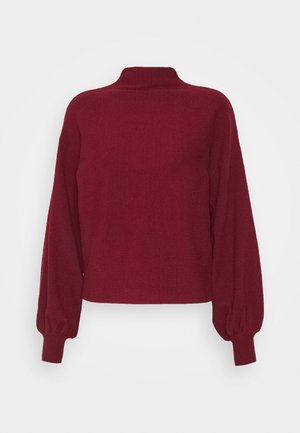 VMNANCY BALLOON FUNNECK - Jumper - cabernet