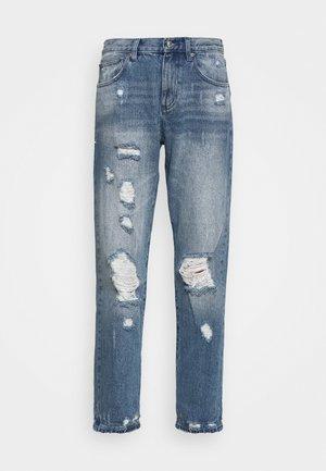 DISTRESSD - Jeans straight leg - auth blue