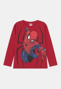 Lindex - MINI TOP MARVEL SPIDERMAN - Long sleeved top - dark red - 0