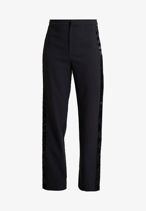 EXCLUSIVE LYDIA TROUSERS - Kalhoty - black
