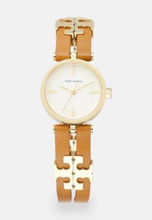 THE SLIM - Horloge - brown/gold-coloured