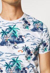 Superdry - SUPPLY - Print T-shirt - ice marl - 5