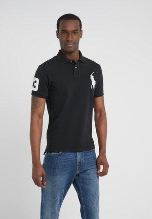 BASIC SLIM FIT - Poloshirts - black