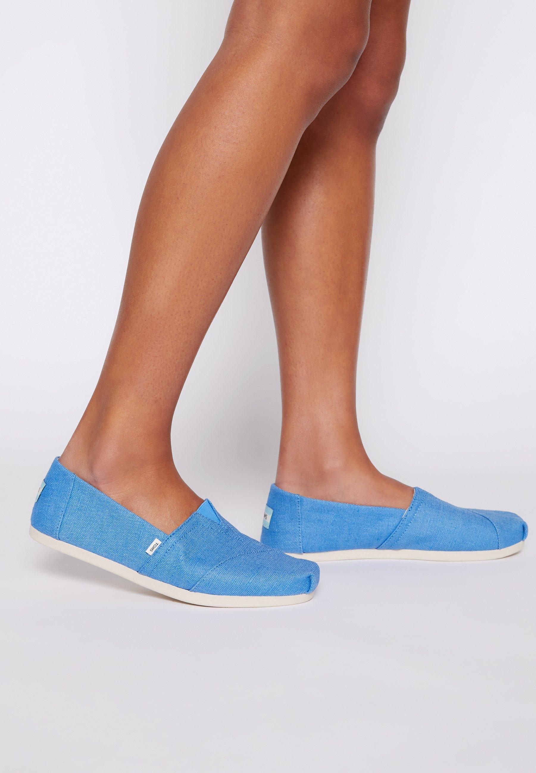Women ALPARGATA VEGAN - Slip-ons - azure blue
