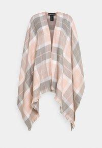 Barbour - STAFFIN TARTAN SERAPE - Cape - pink/grey - 0