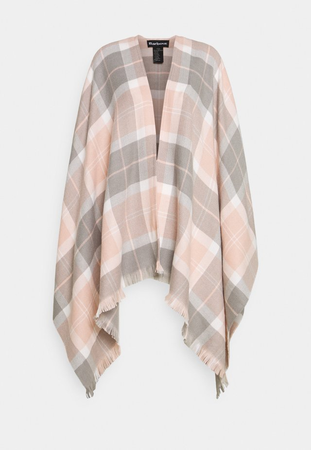 STAFFIN TARTAN SERAPE - Cape - pink/grey