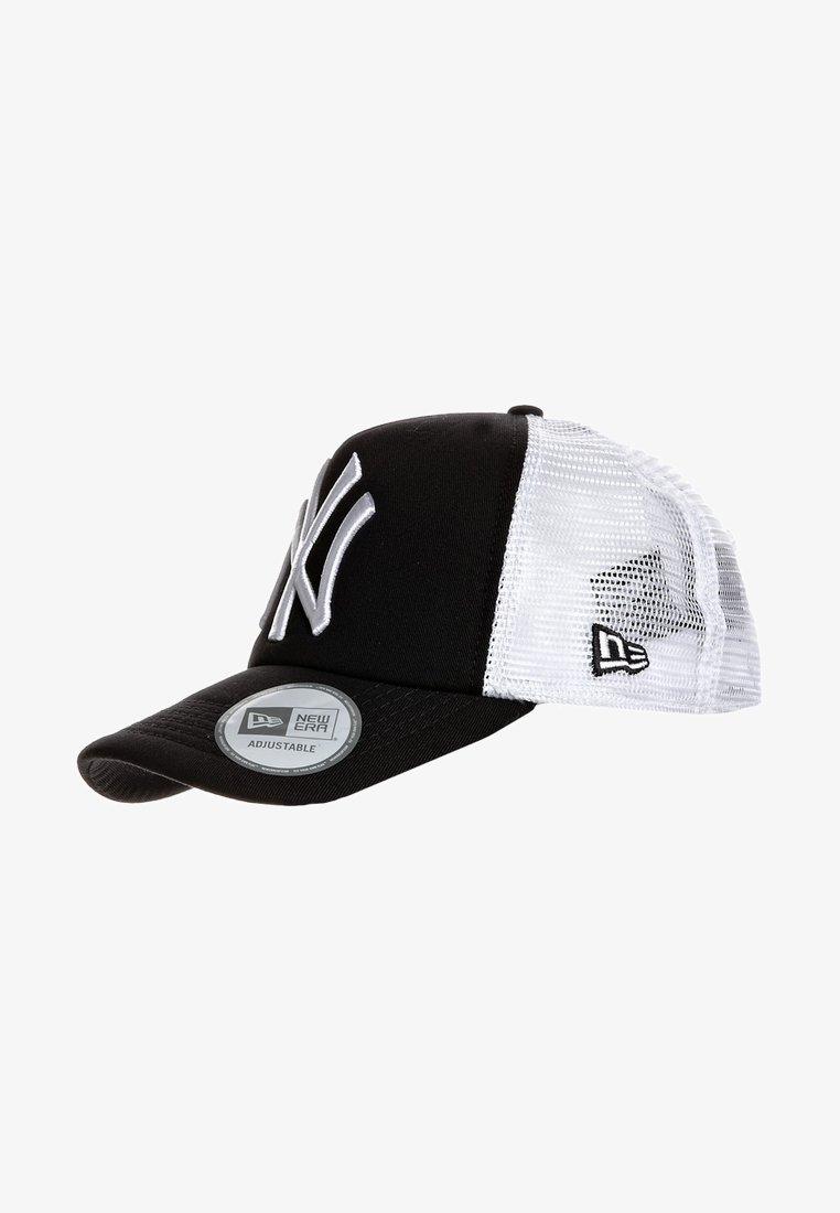 New Era - MLB CLEAN TRUCKER NY YANKEES - Cap - black/white