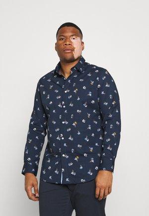REY PRINT - Overhemd - navy