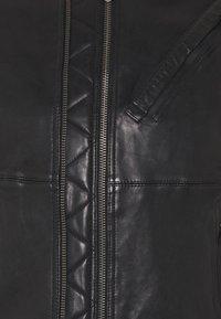 G-Star - MOTO  - Leather jacket - black - 2
