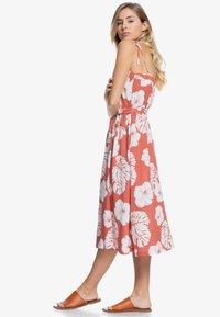 Roxy - NOWHERE TO HIDE - Day dress - marsala - 2