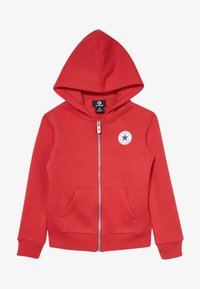 Converse - CHUCK PATCH FULL ZIP HOODIE  - Zip-up hoodie - university red - 2