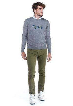 Sweatshirt - grigio scuro screziato