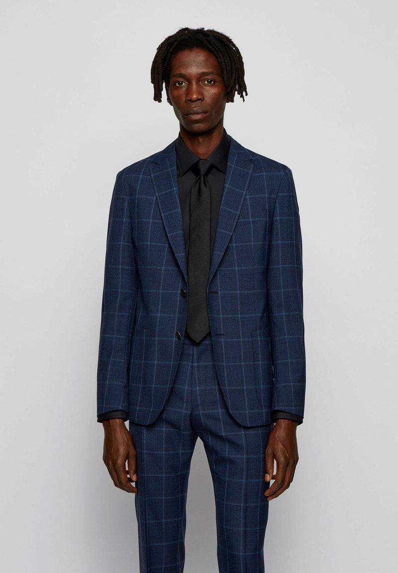 BOSS - NOLVAY - Blazer jacket - open blue