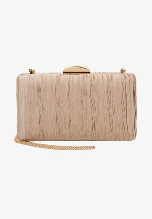GISELLE GATHERED DETAIL HARDCASE - Pochette - bronze