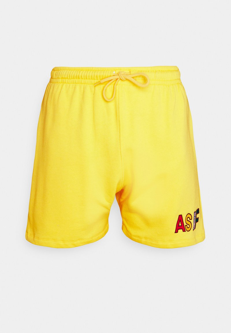 AS IF Clothing - COZY UNISEX - Tracksuit bottoms - yellow