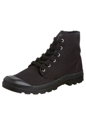 PAMPA - Bottines à lacets - black