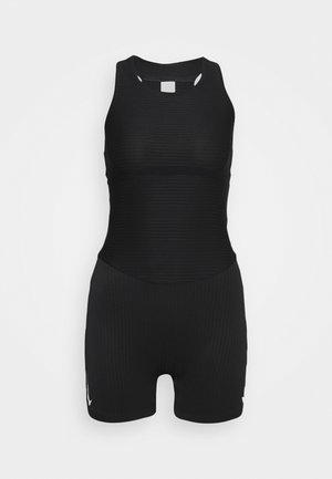 RACE UNITARD - Gym suit - black