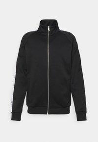 DAVIS TECH ZIPPER - Summer jacket - black