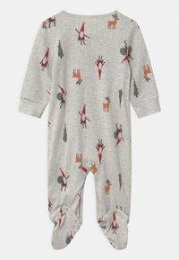 Carter's - SLEEP PLAY CHRISTMAS UNISEX - Sleep suit - mottled light grey - 1