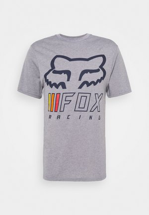 OVERHAUL TECH TEE - T-Shirt print - grey