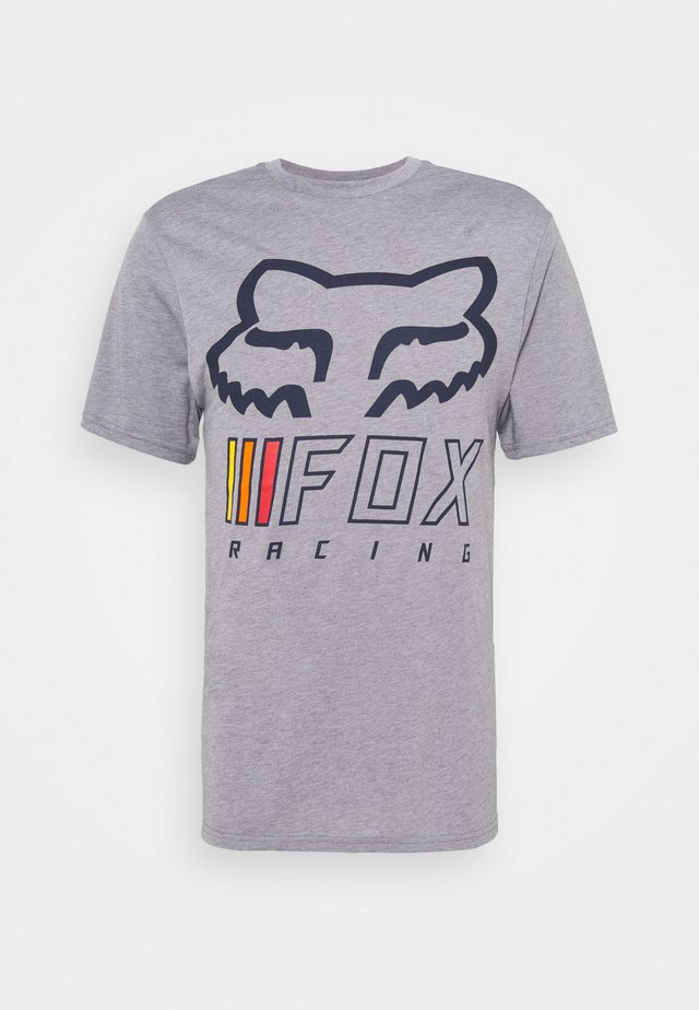 OVERHAUL TECH TEE - Print T-shirt - grey