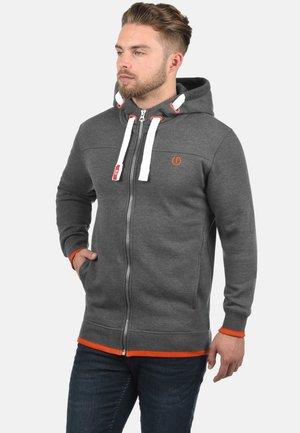 BENJAMIN - Felpa con zip - grey melange