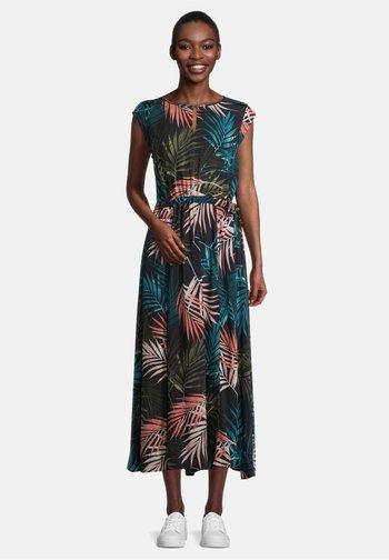 MIT MUSTER - Day dress - blau/khaki