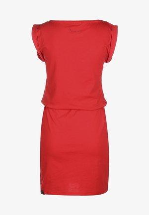 KLEID SLAVKA W - Sukienka z dżerseju - red