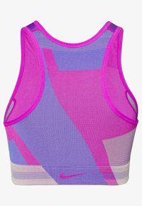 Nike Performance - SEAMLESS BRA - Sports-BH - fire pink/sapphire/desert dust - 1