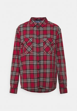 ORIANA - Button-down blouse - red