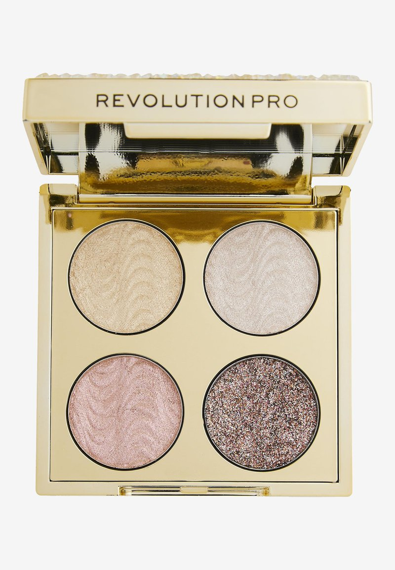 Revolution PRO - ULTIMATE CRYSTAL EYE QUAD - Palette occhi - champagne crystal